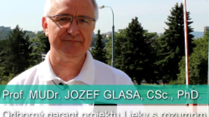 J. Glasa: Môžeme sa stať závislými od liekov?
